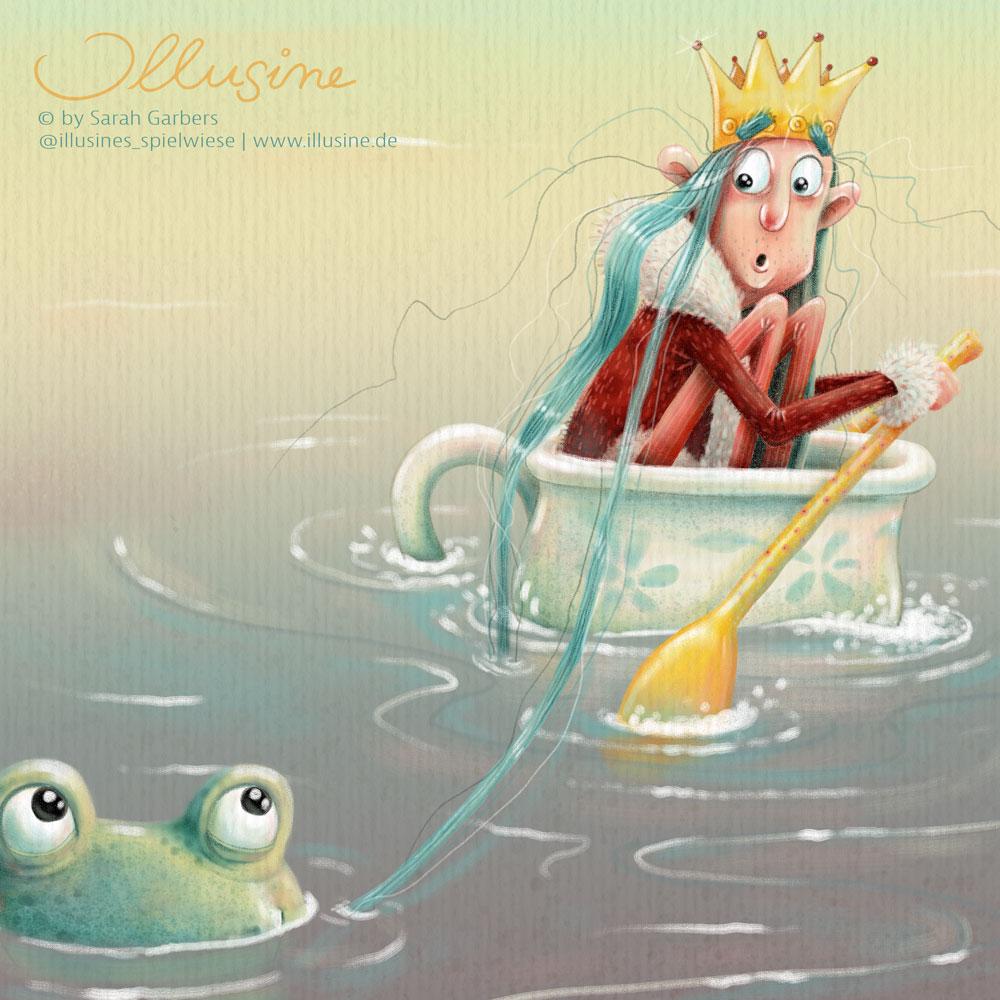 Majestät in Teetasse